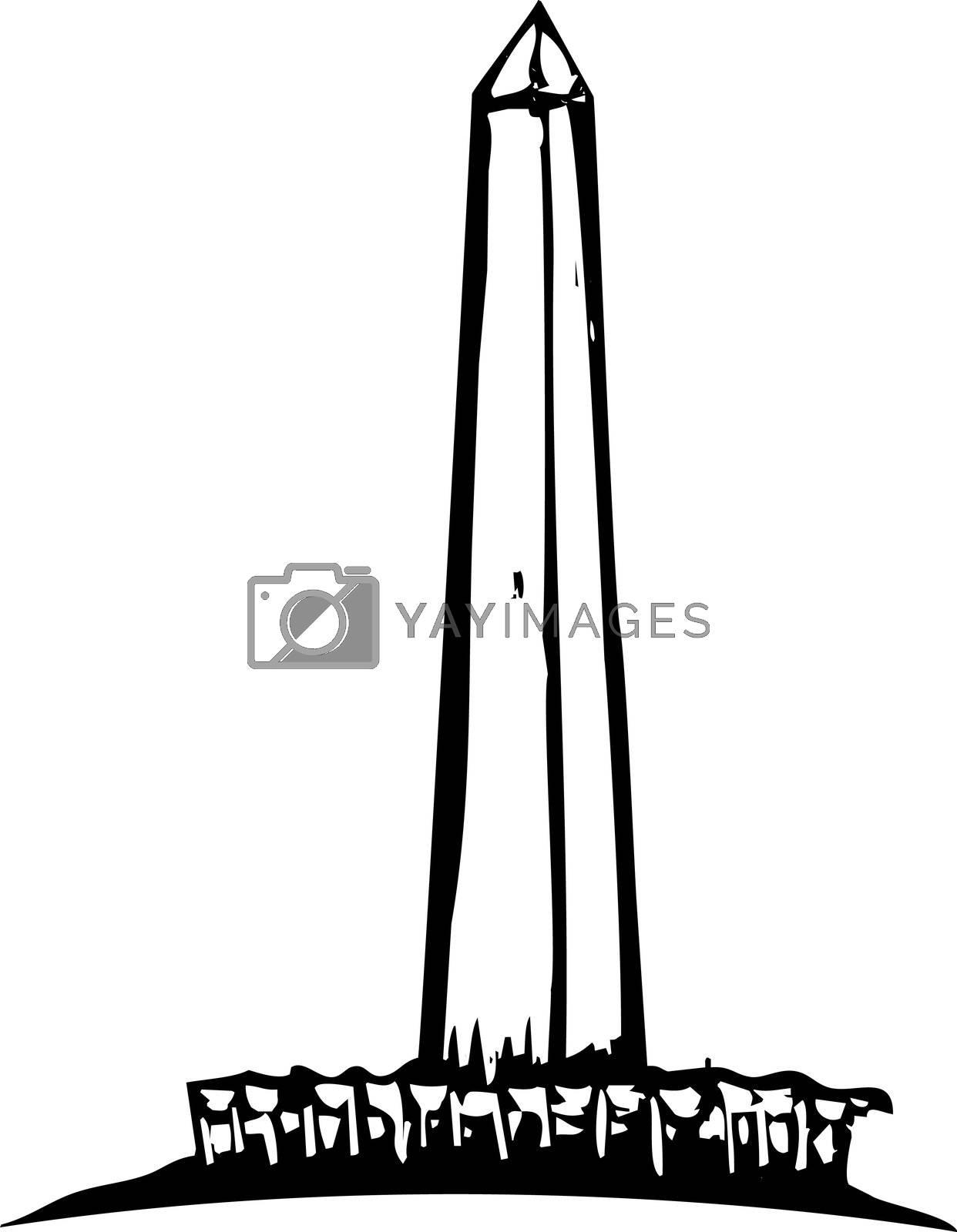 Washington Monument by Xochicalco
