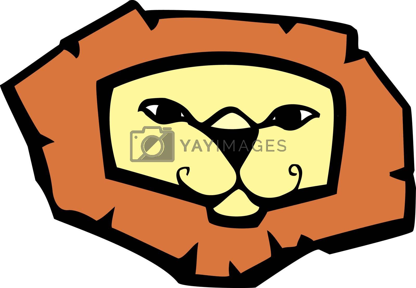 Lion Head by Xochicalco