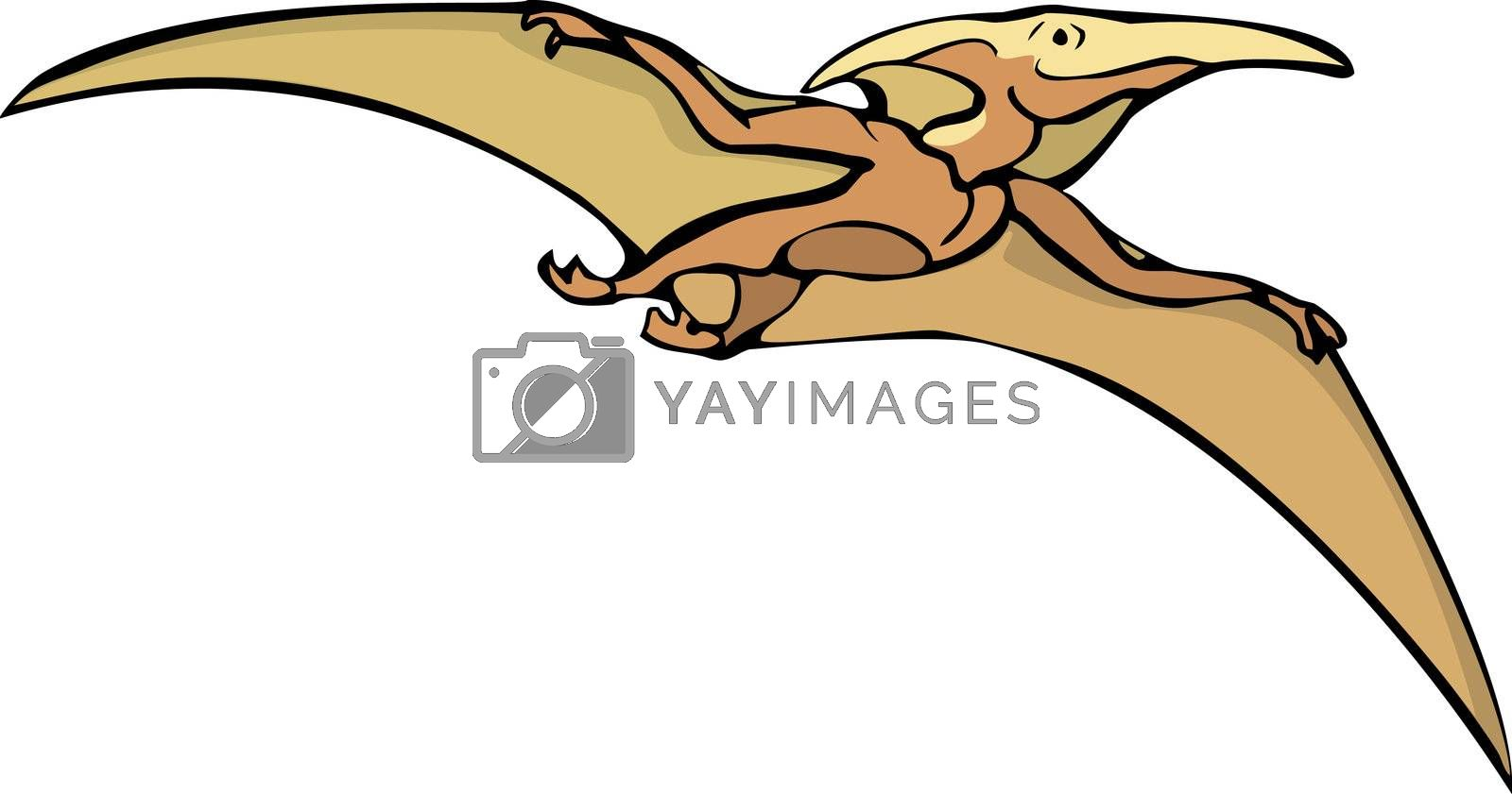 Pterodactyl #3 by Xochicalco