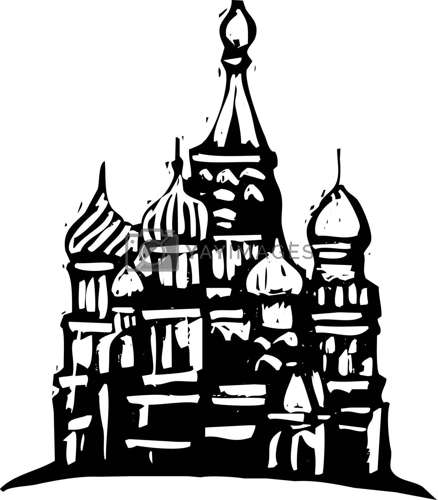 Kremlin Russia by Xochicalco