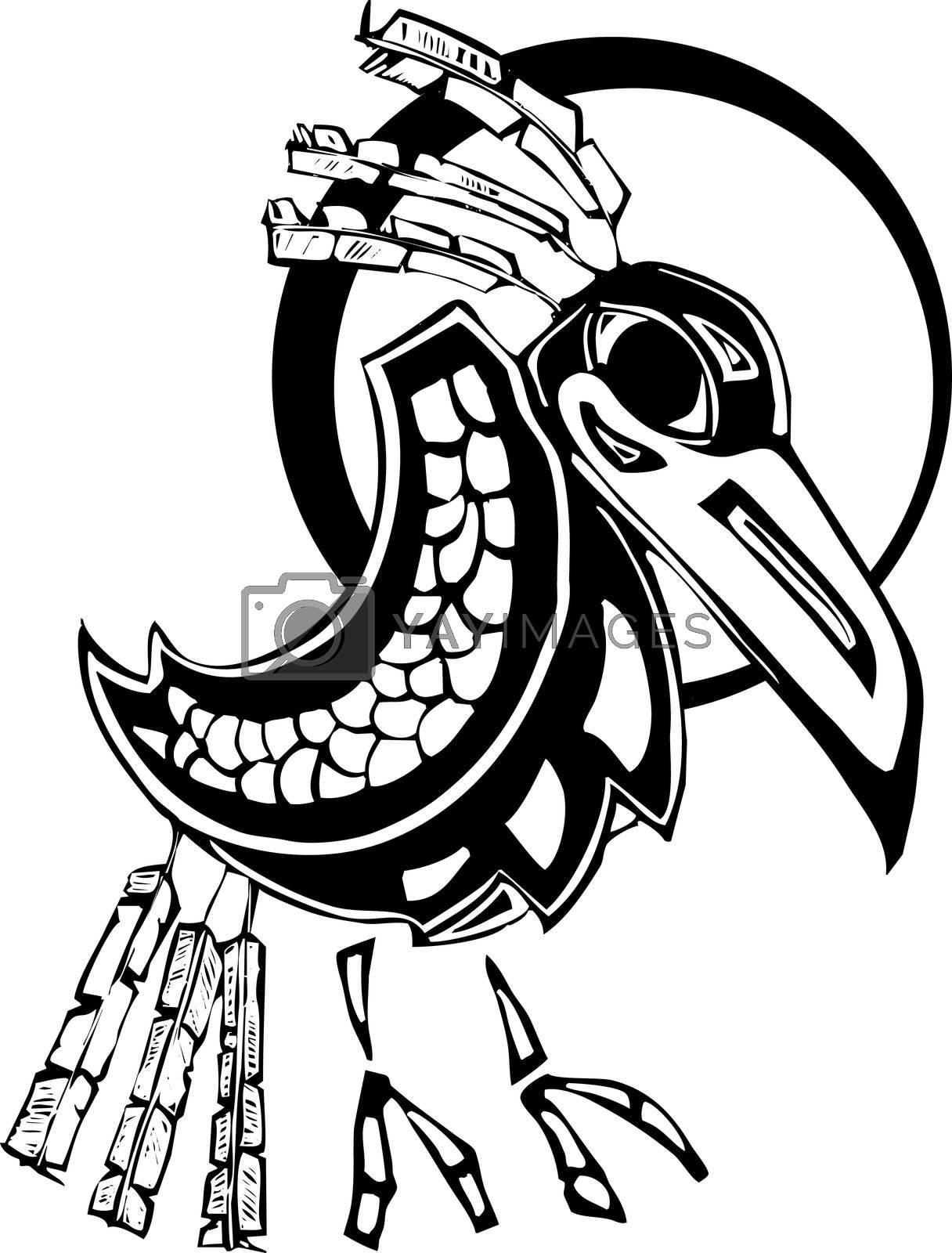 Raven by Xochicalco