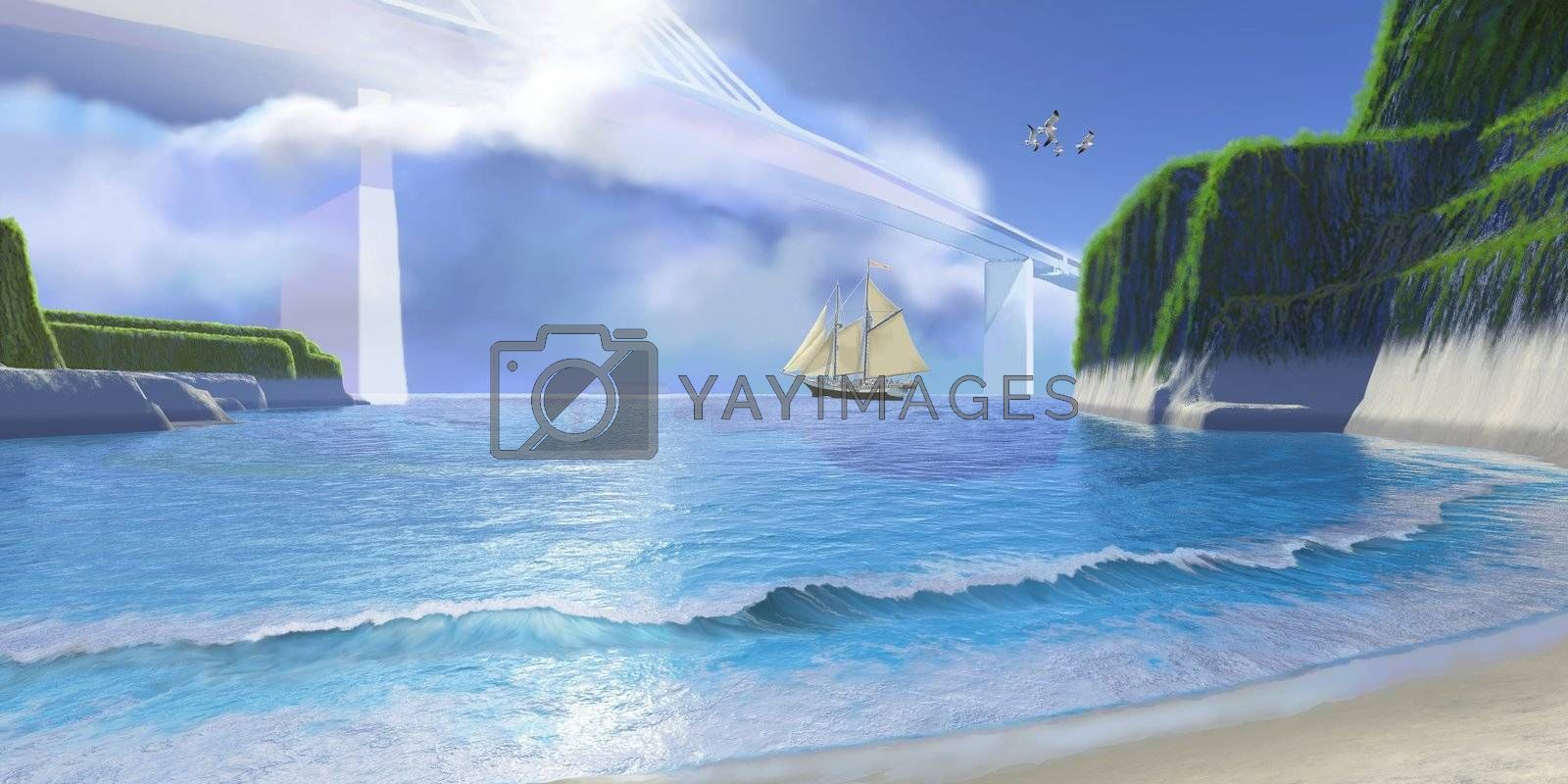 Royalty free image of COVE by Catmando