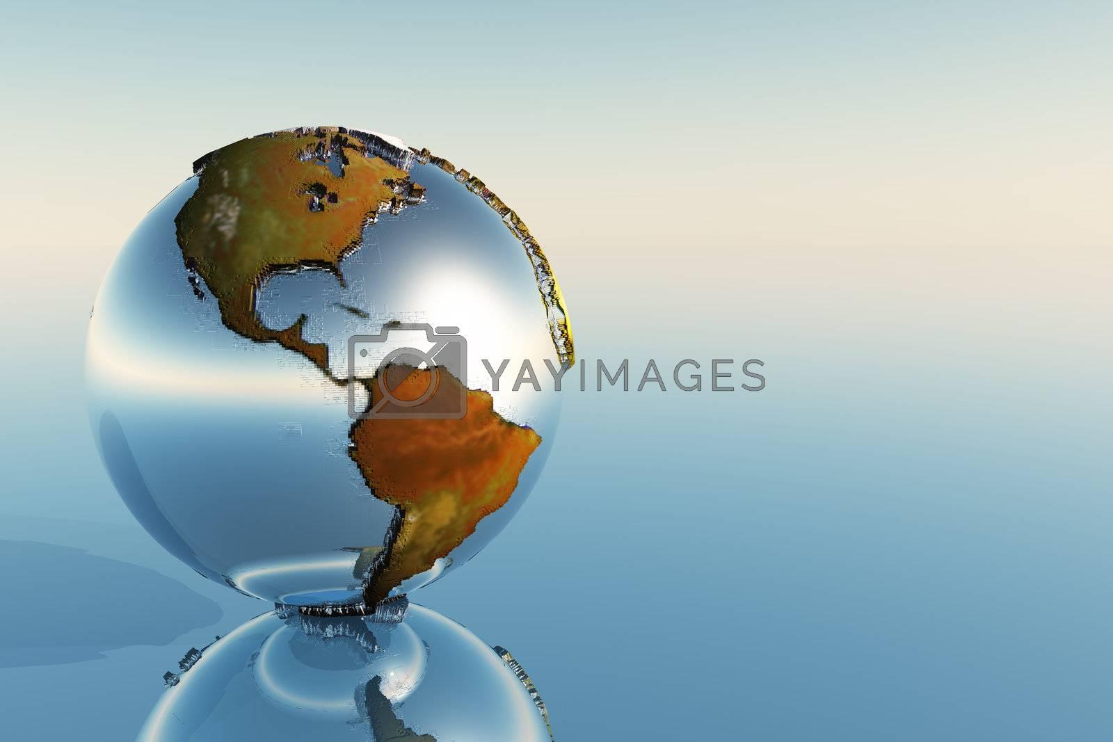 Royalty free image of GLOBE by Catmando