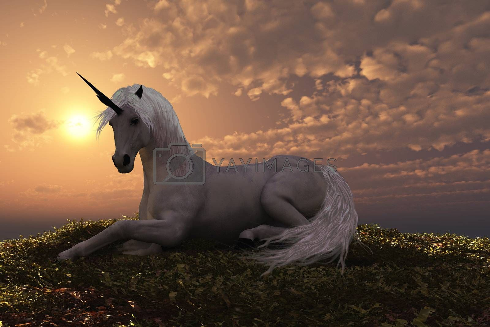 Royalty free image of UNICORN by Catmando