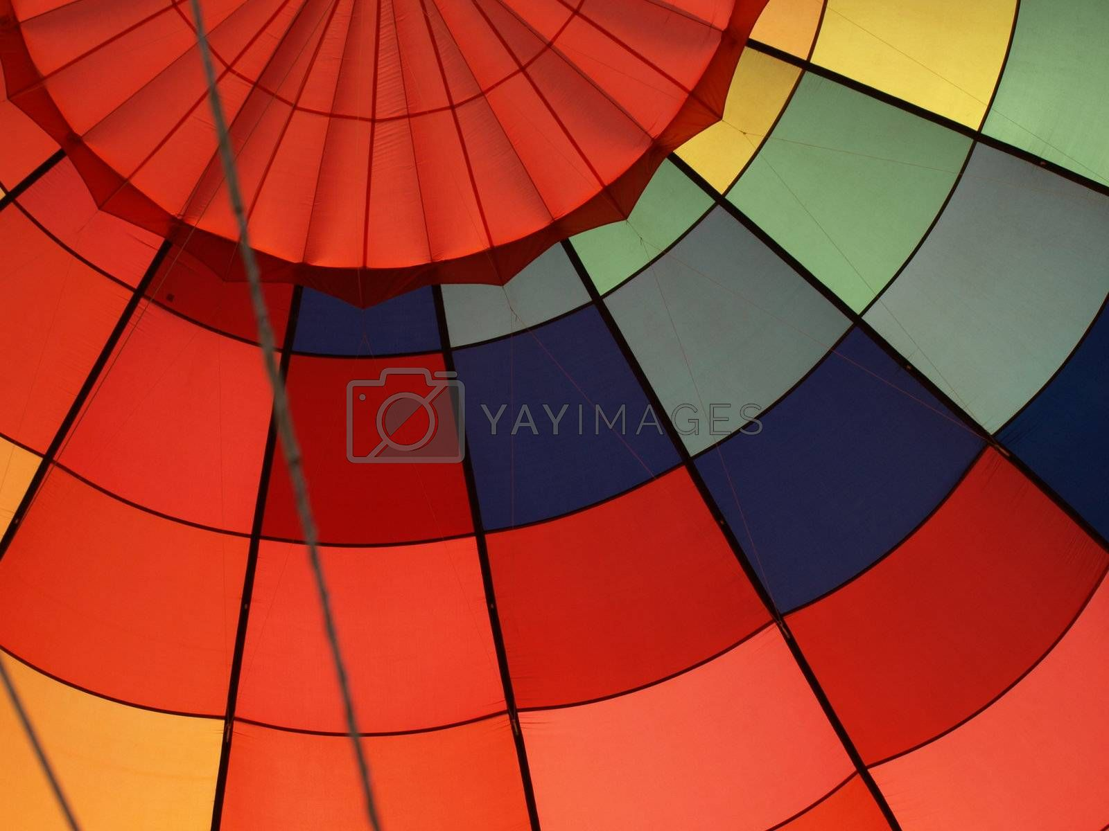 Inside the balloon by northwoodsphoto