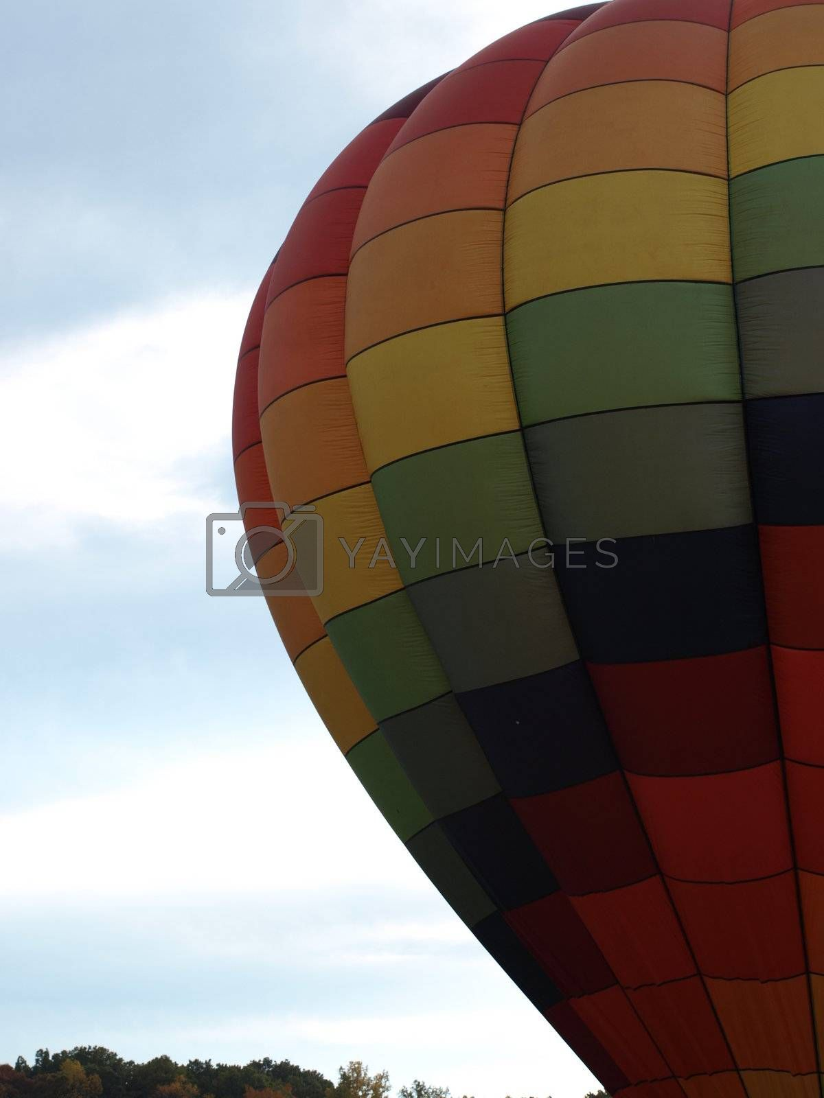 Hot air balloon by northwoodsphoto