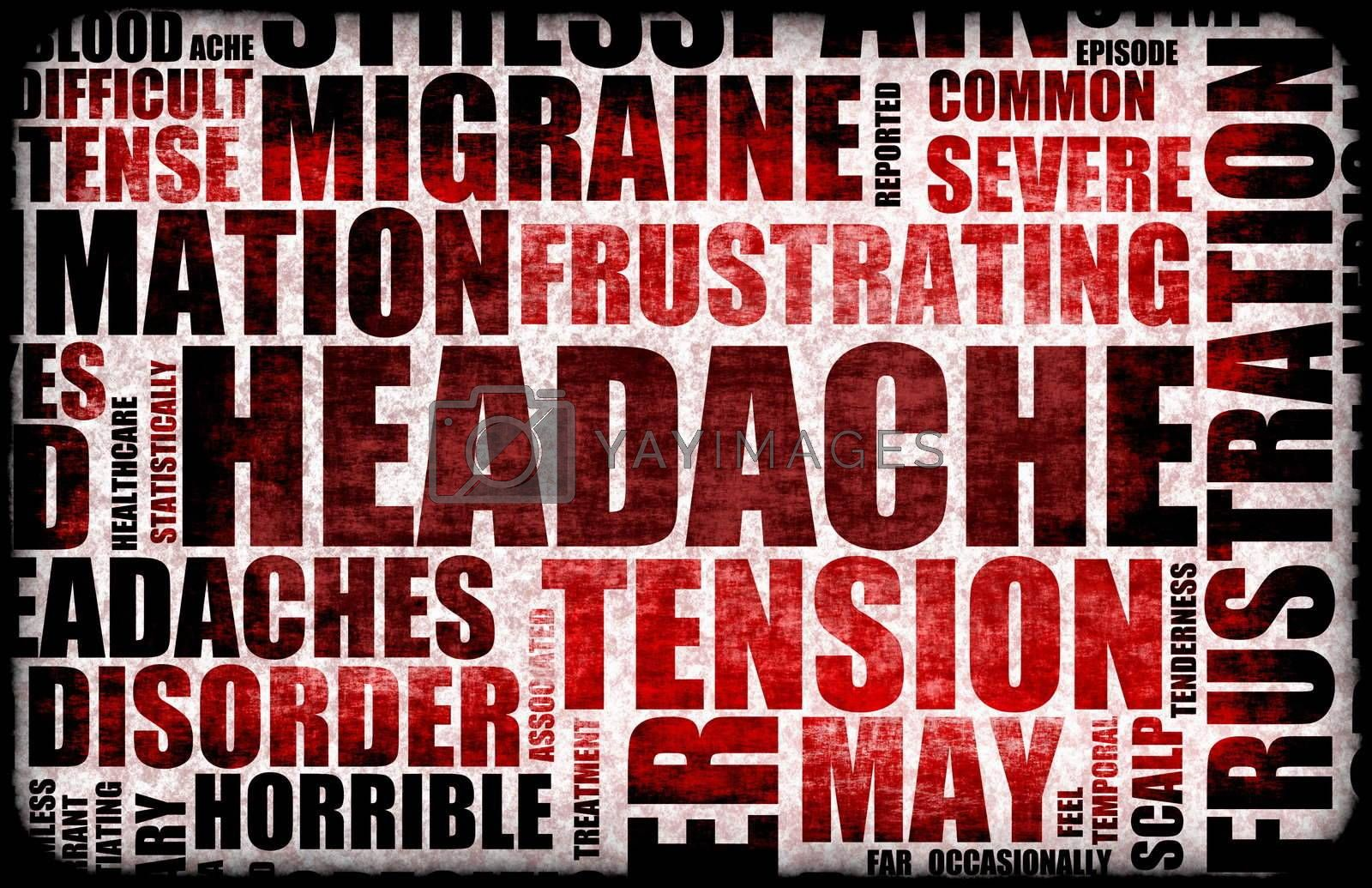 Severe Headache Medical Condition as a Background