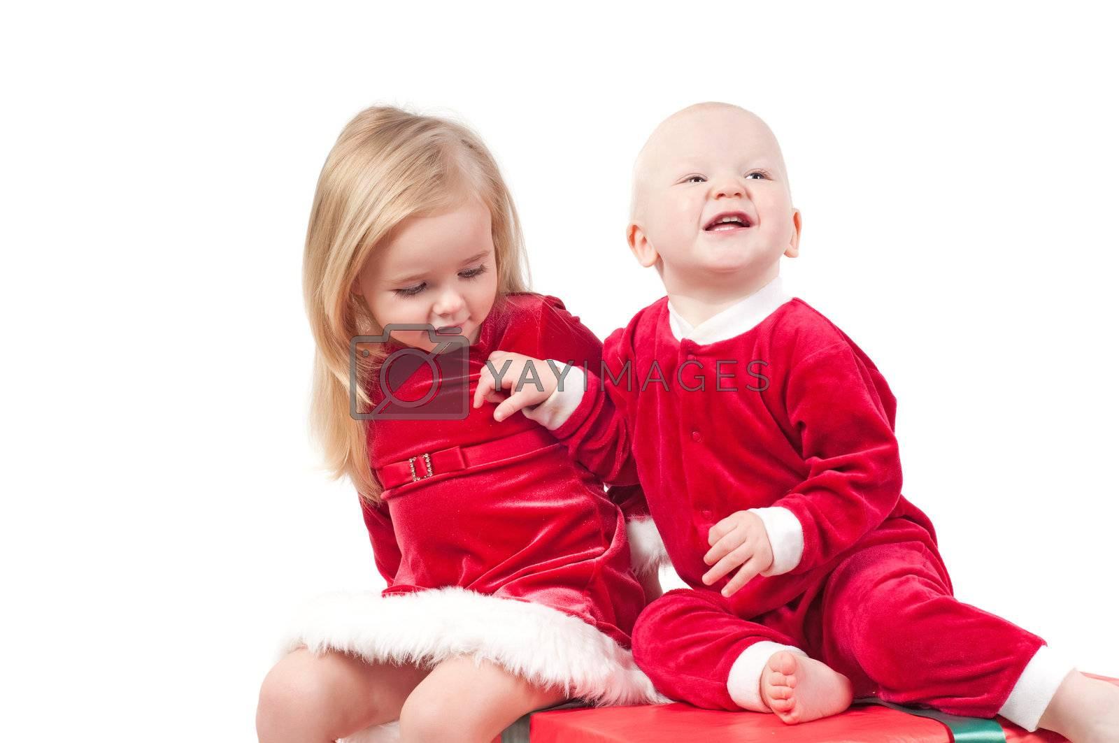Christmas babies by anytka