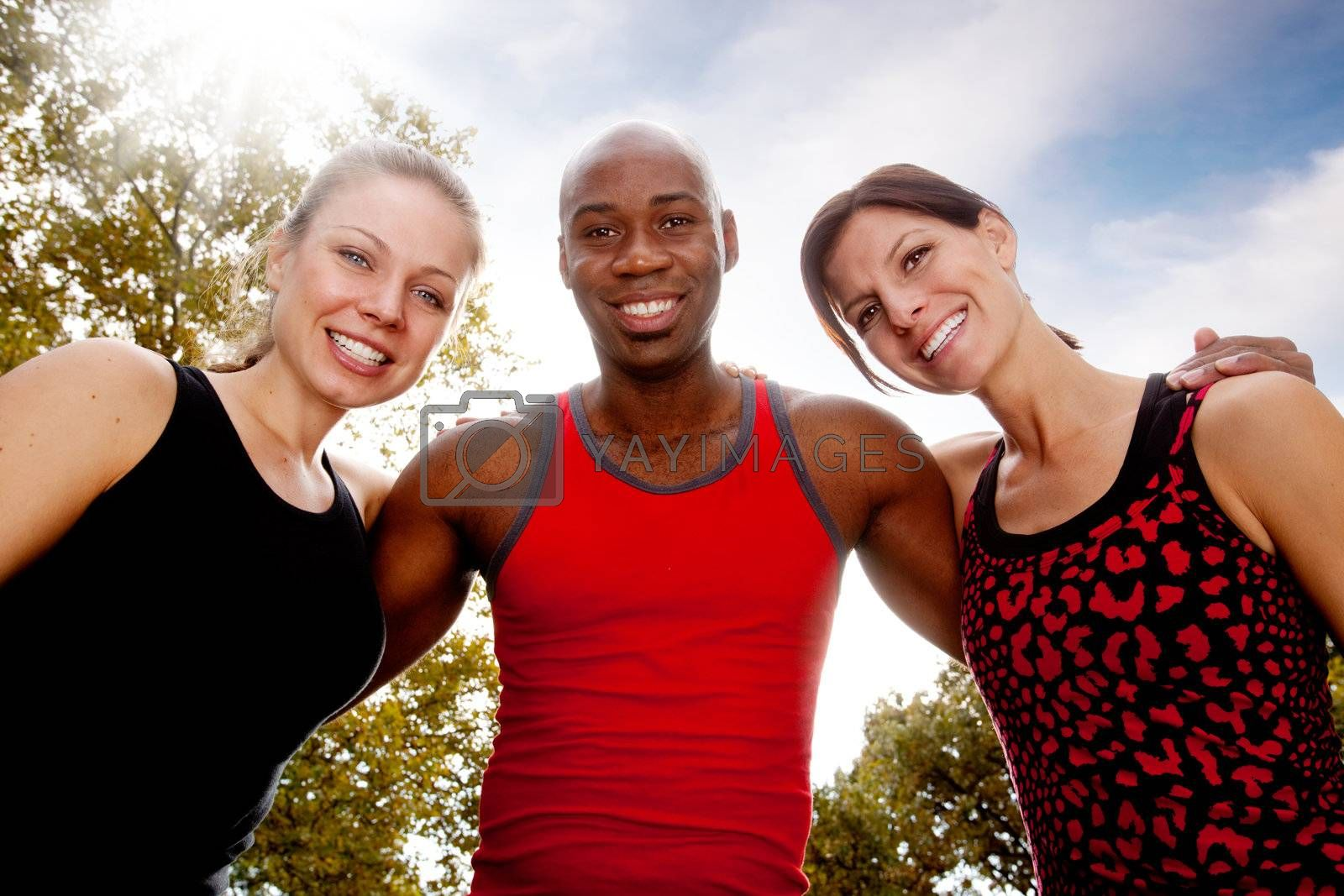 Fitness Friends by leaf