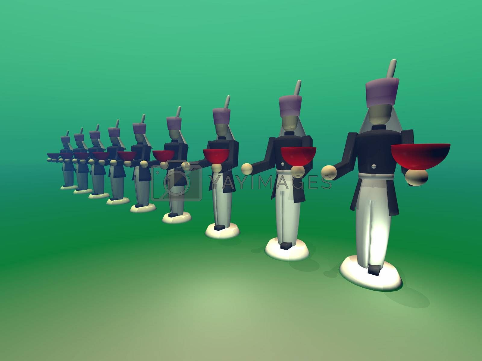 Royalty free image of TOY SOLDIERS by Catmando