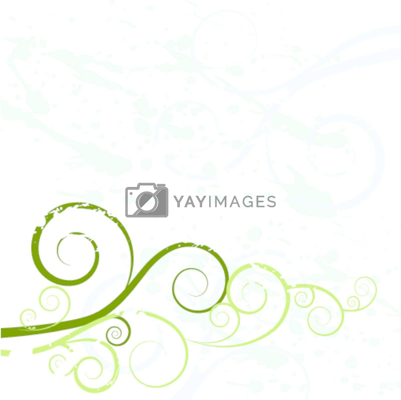 An image of a grunge swirl background texture.