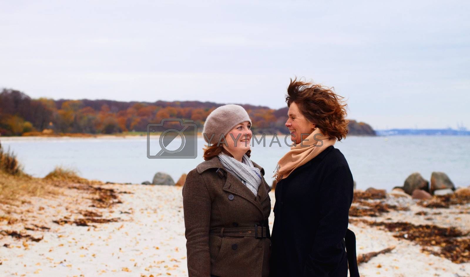 Royalty free image of Bonding - Mother and Daughter having a laugh together by FreedomImage