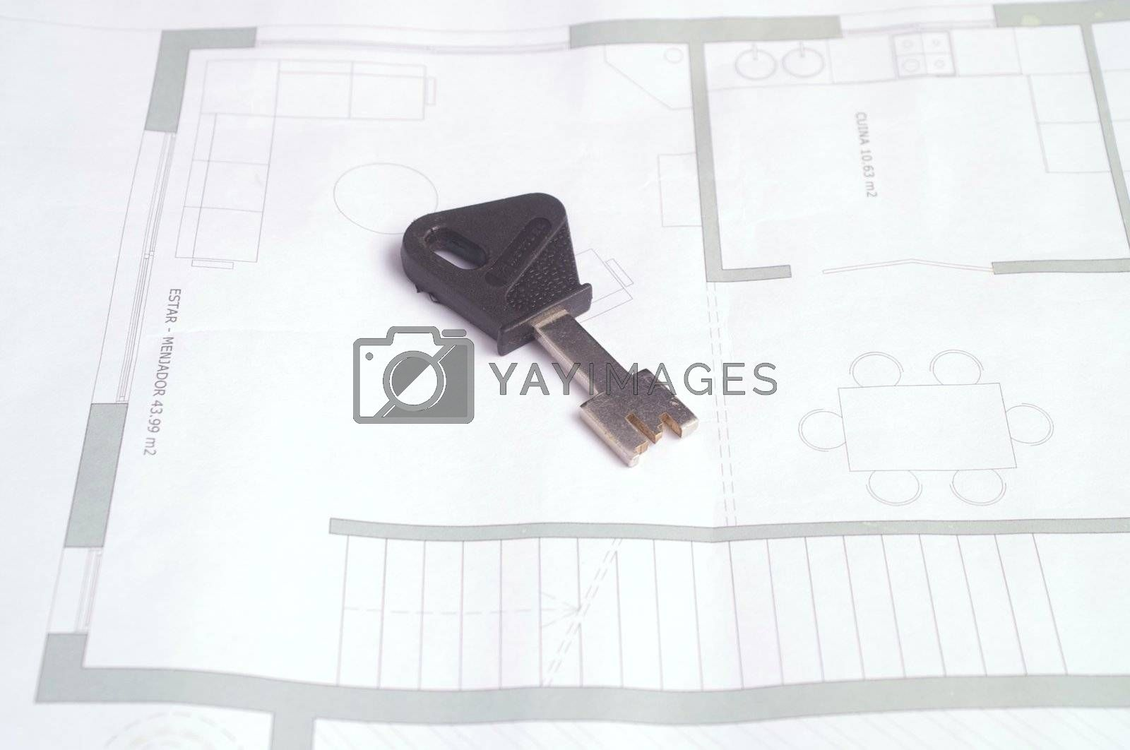 Plans of one family house