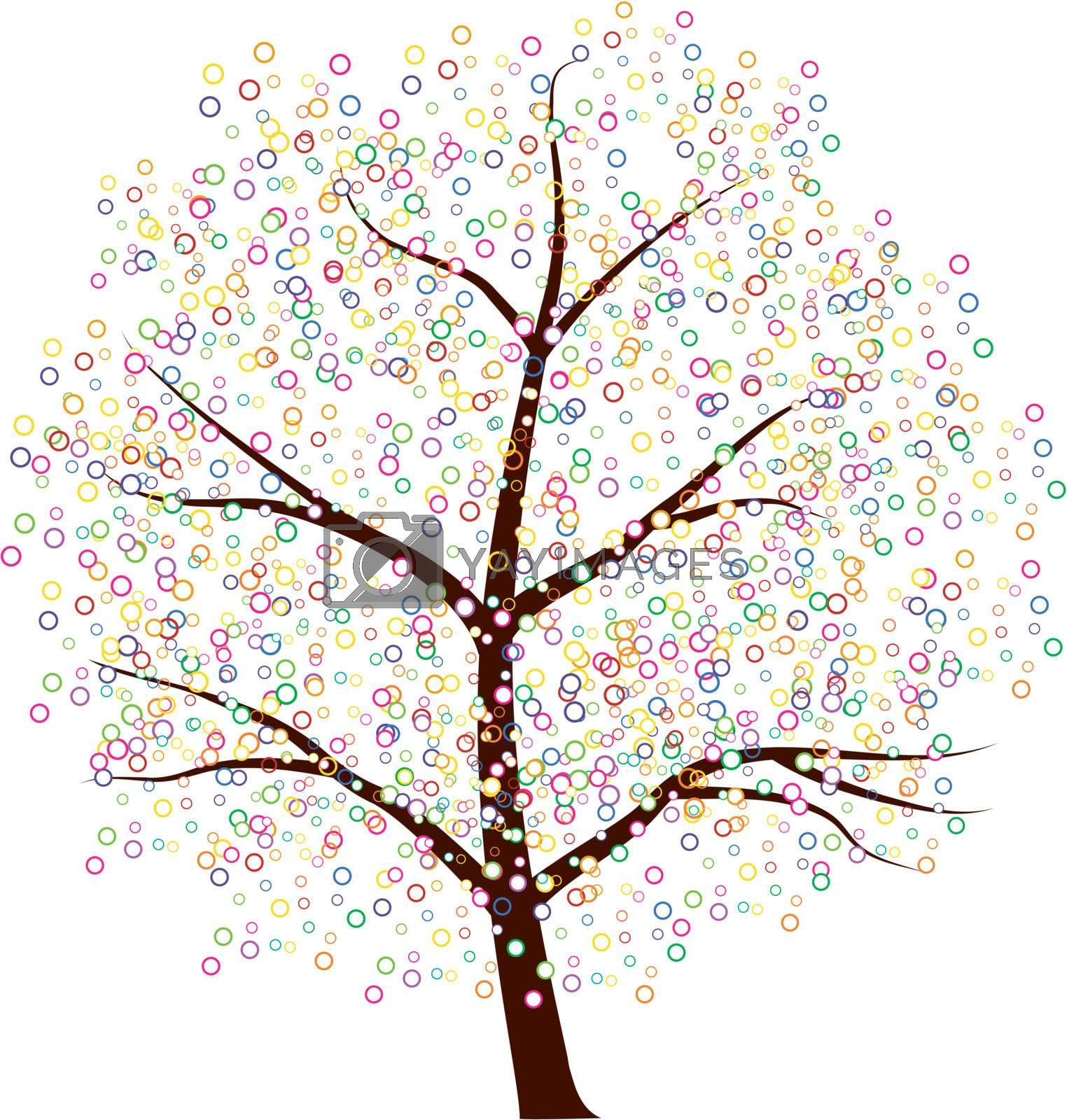 An image of a dot tree.