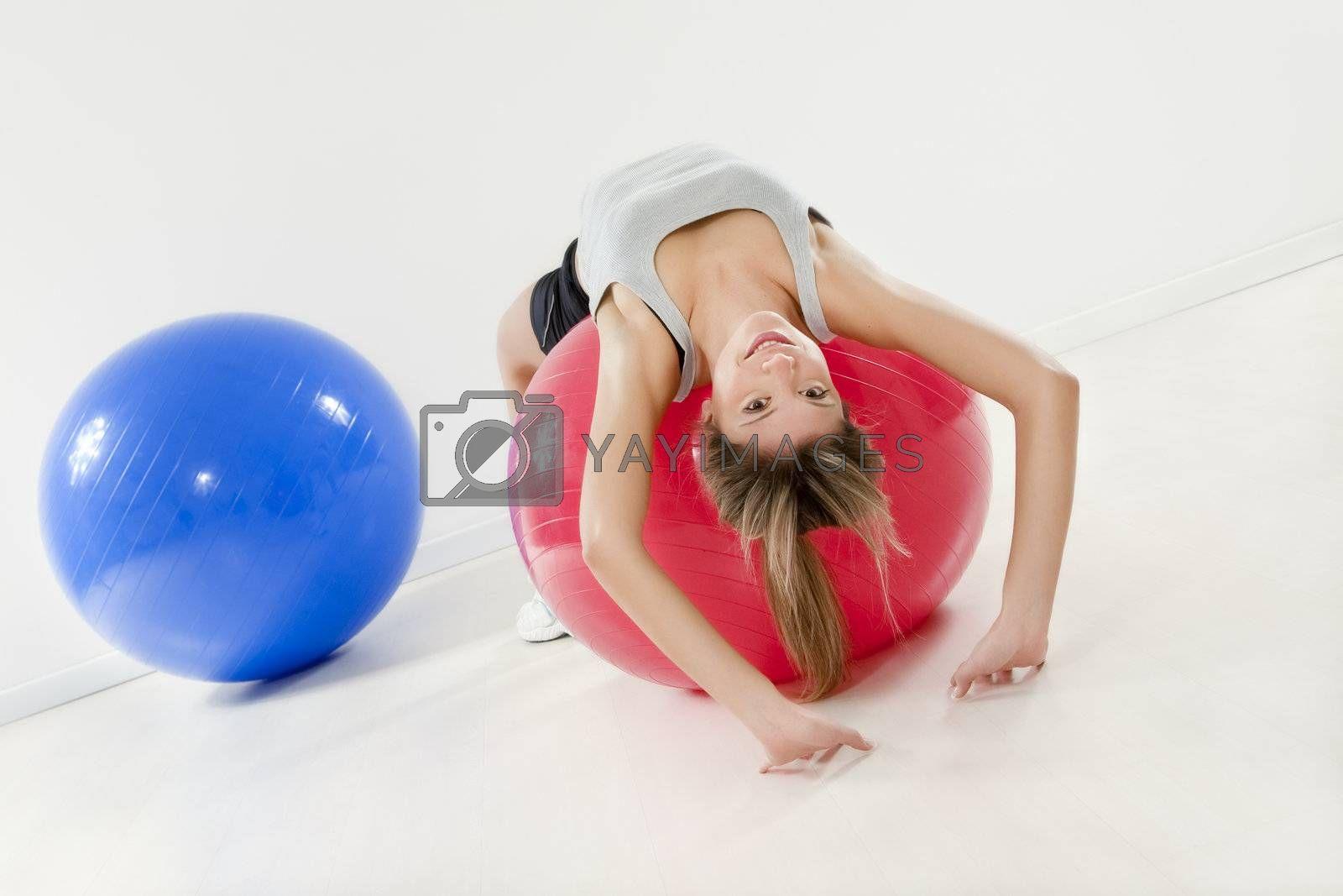 Royalty free image of fitness by diego_cervo