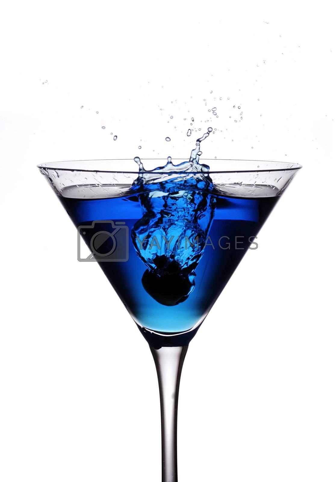 cocktail olive splash by massman