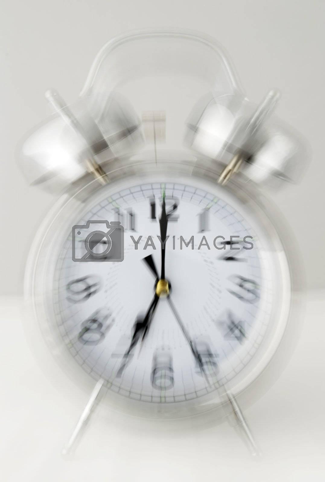 ringing alarm clock by massman