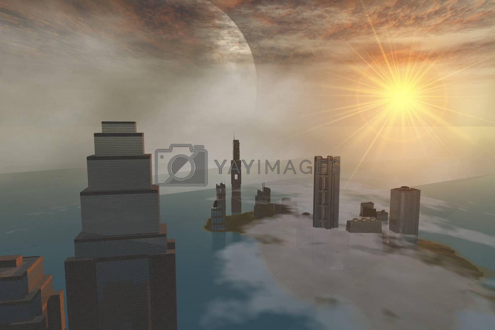 Royalty free image of CZAR CITY by Catmando