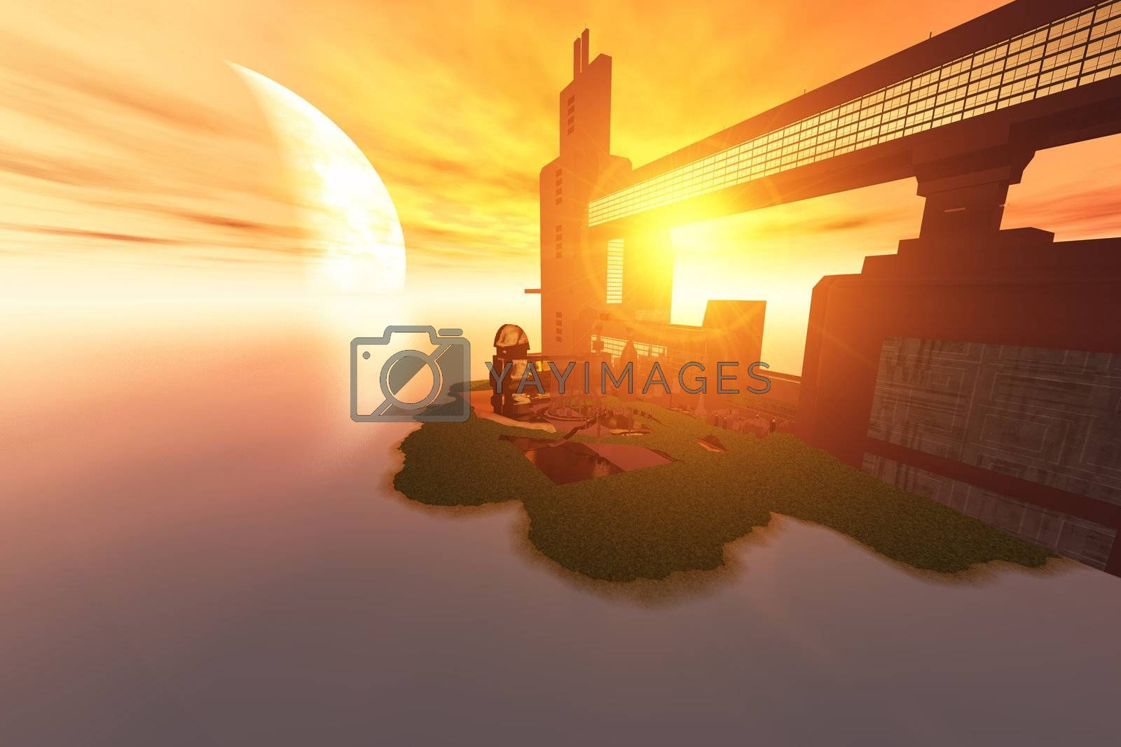 Royalty free image of IMAGINE by Catmando