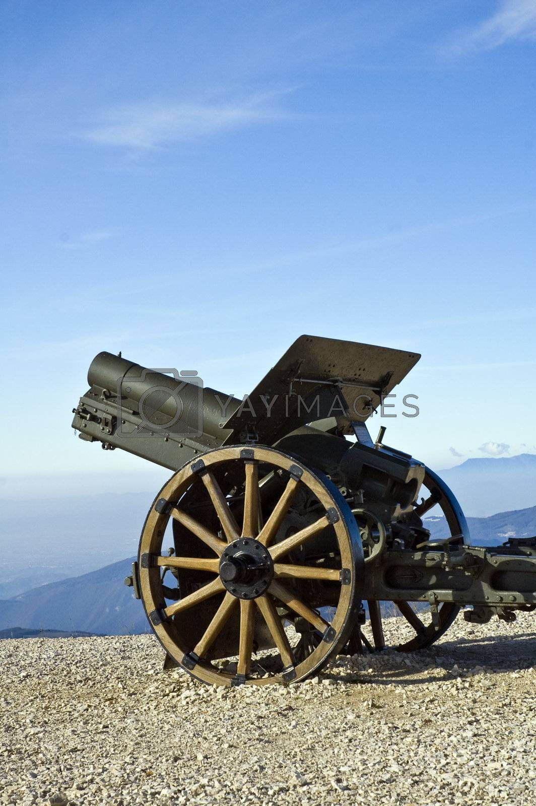 cannon on display