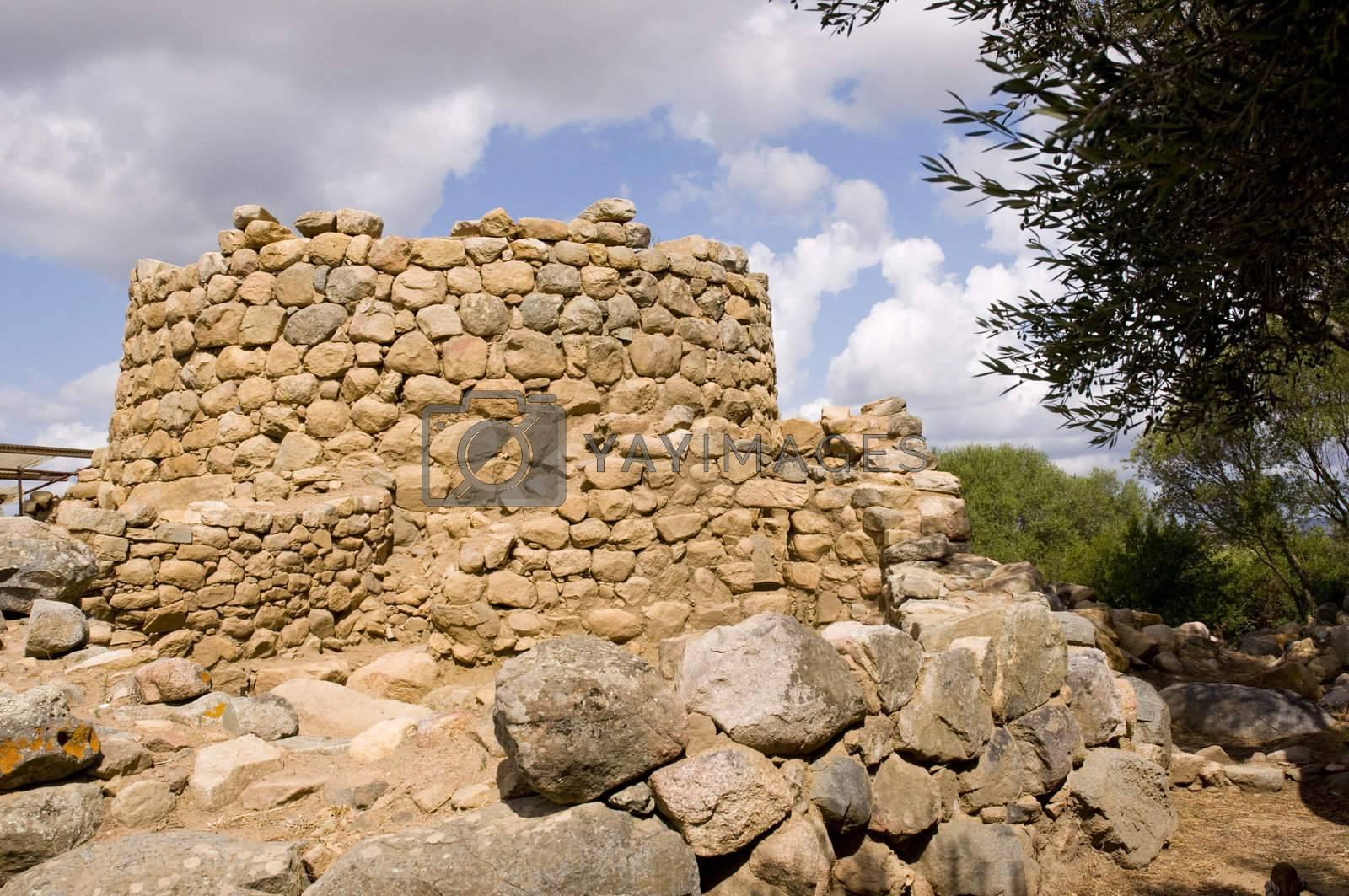ancient village nuragico