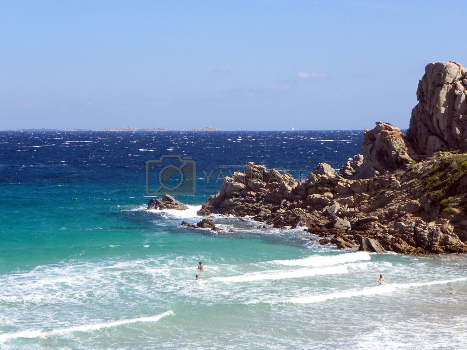 Beach and bathing in Sardinia