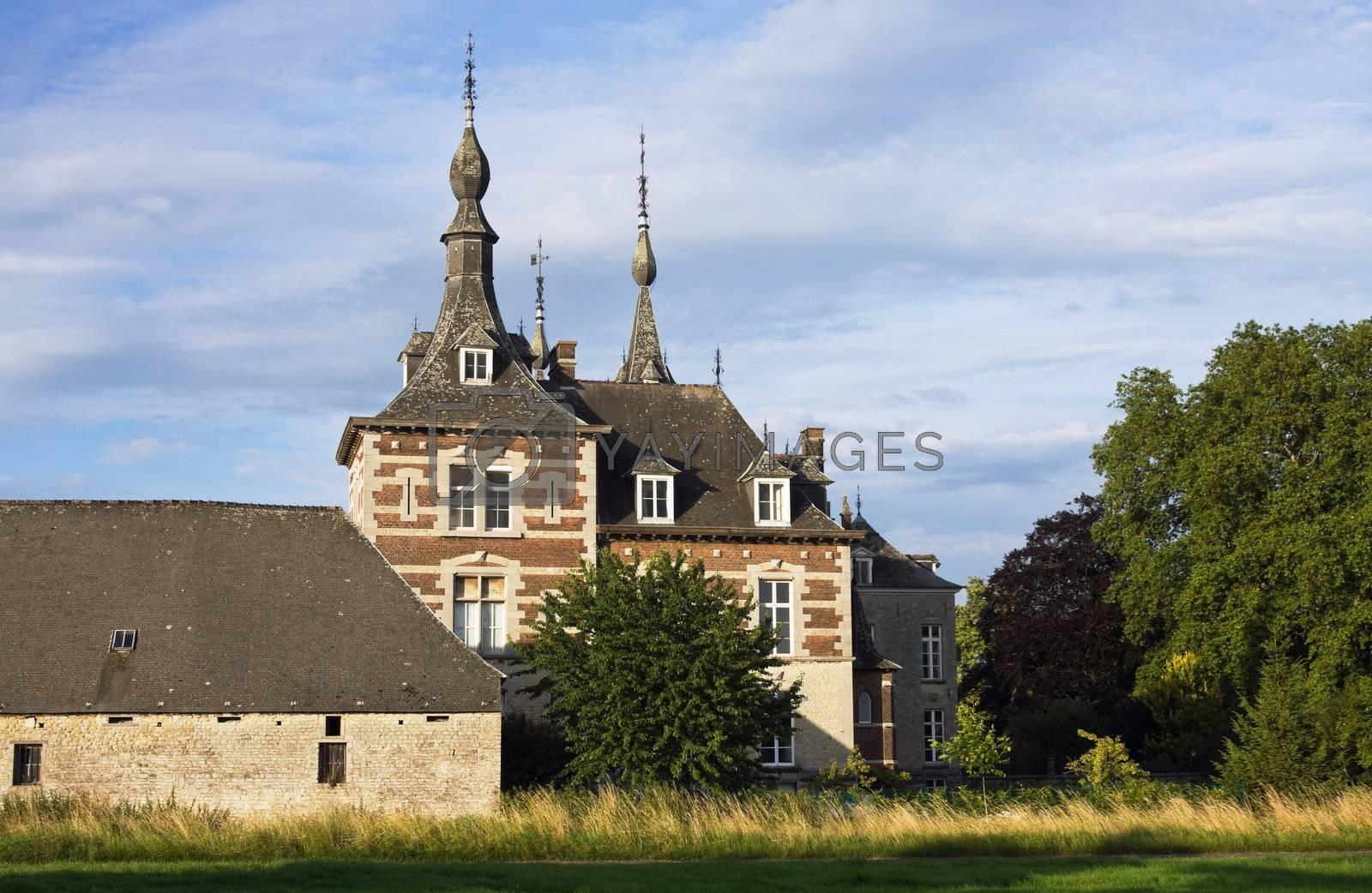 Kasteel van Perk (Perk castle) - Flanders, Belgium.