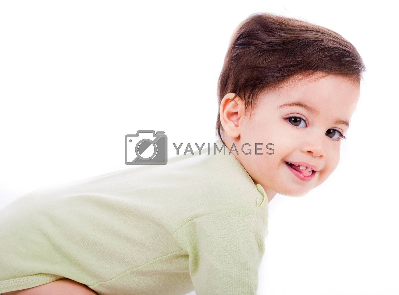caucasian baby smile by get4net