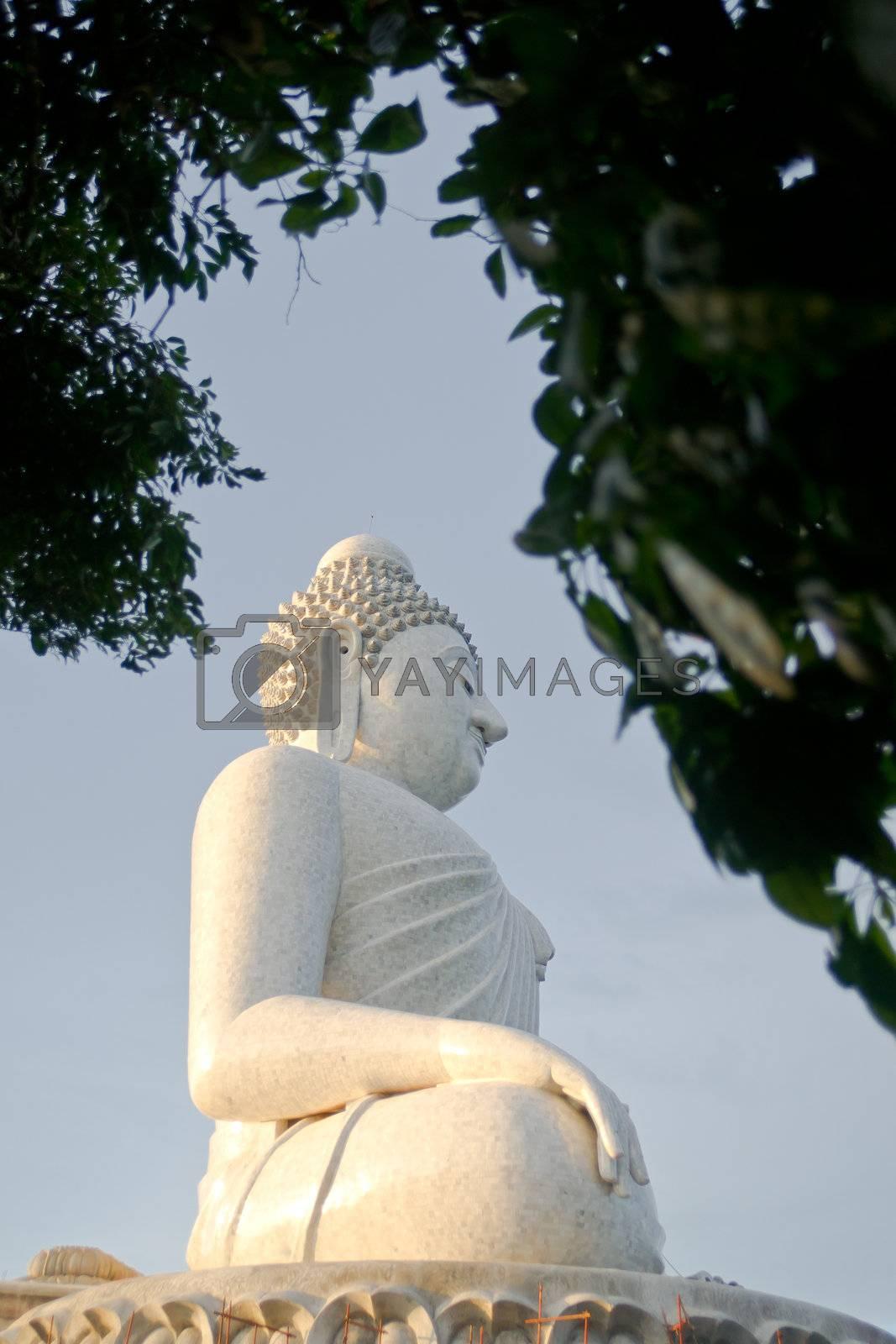 Statue of Big Buddha in Phuket, Thailand