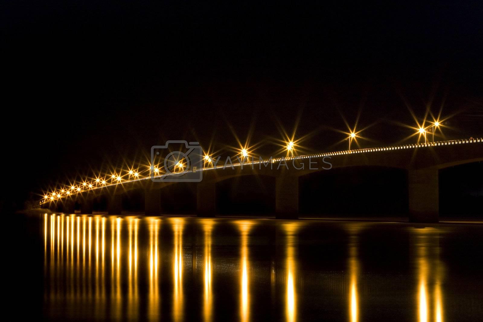 Bridge at the Cambodian border