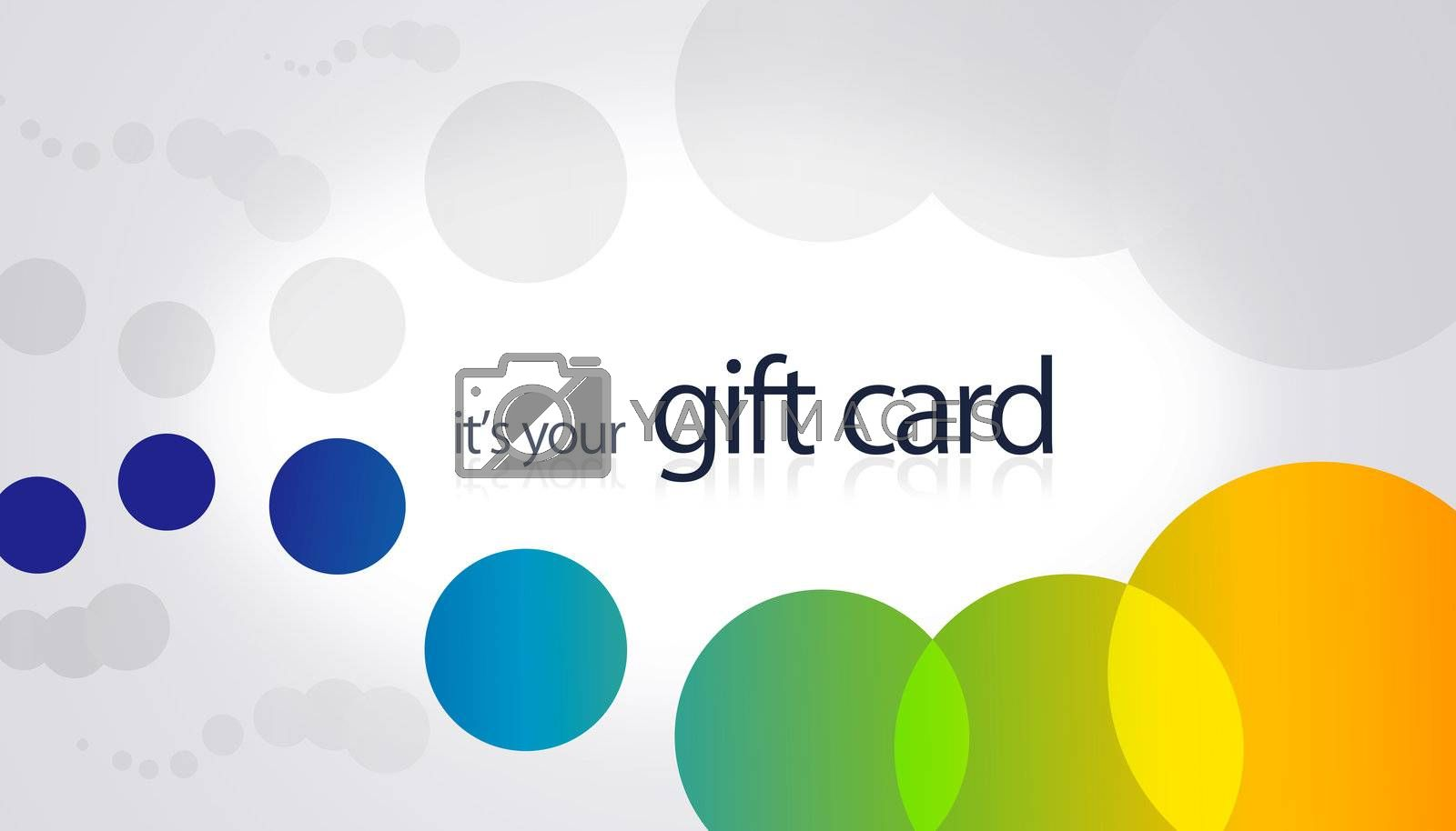 Gift Card - Circles by kbuntu