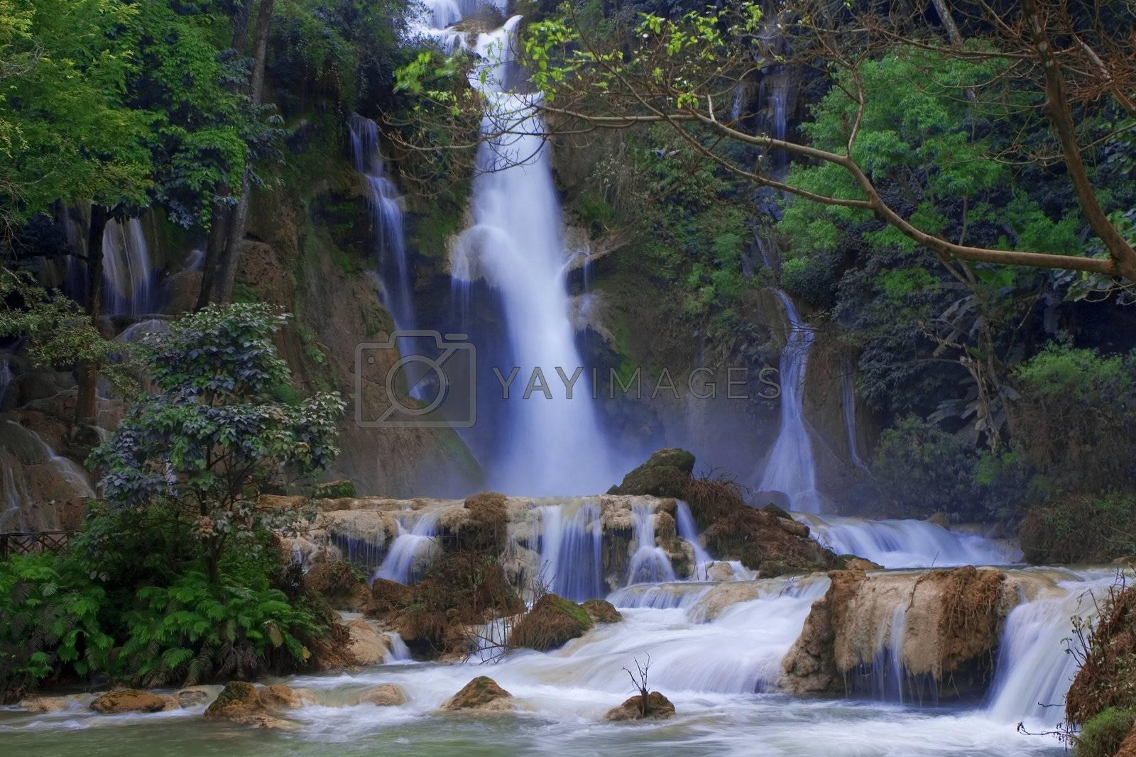 Kuang Si waterfalls, Luang Prabang
