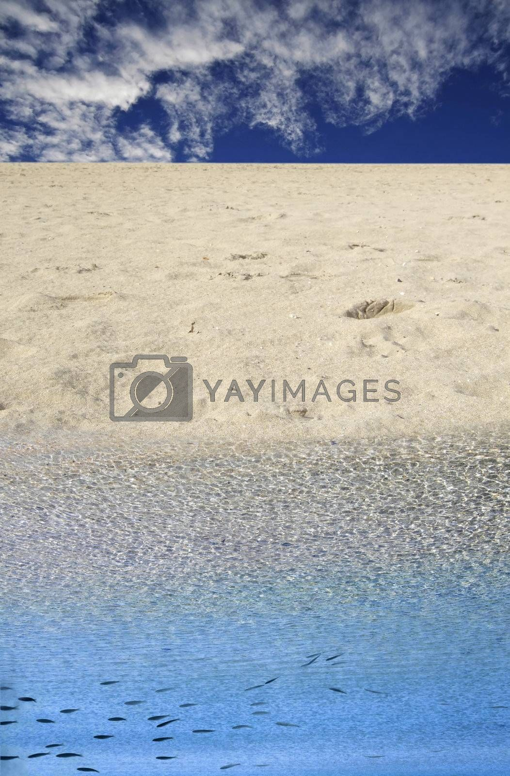 Beach Series - images depicting the general feeling and mood at the beach in the Mediterranean