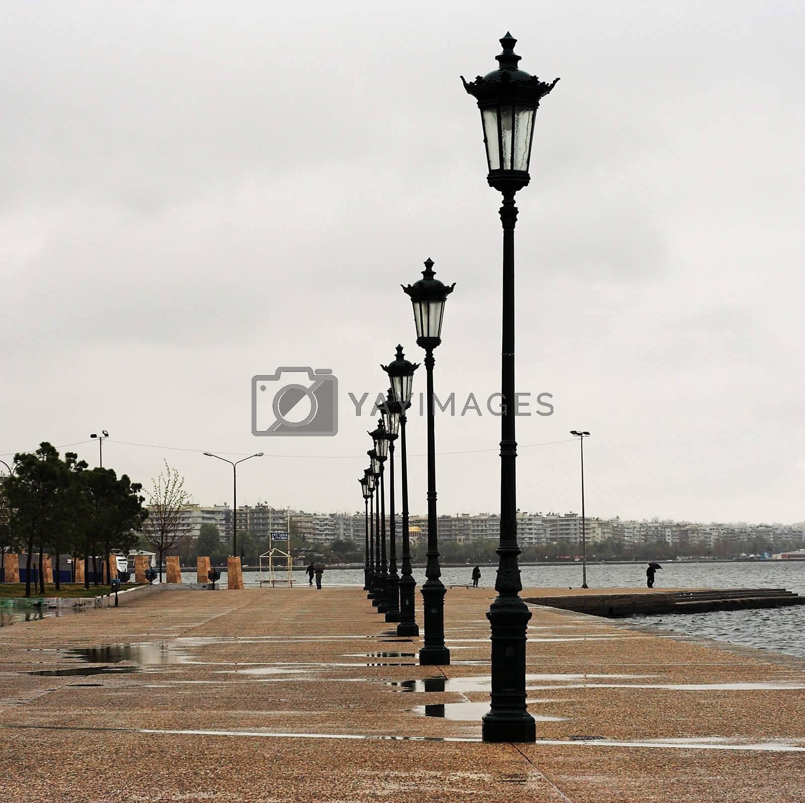 Promenade in Thessaloniki by alexkosev