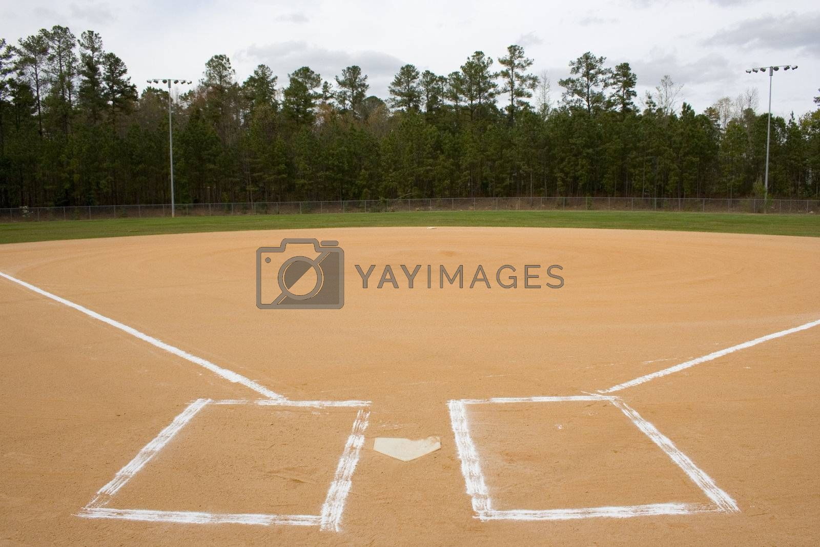Baseball Field by jclardy
