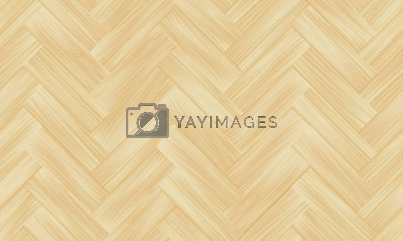 Vector seamless wooden texture