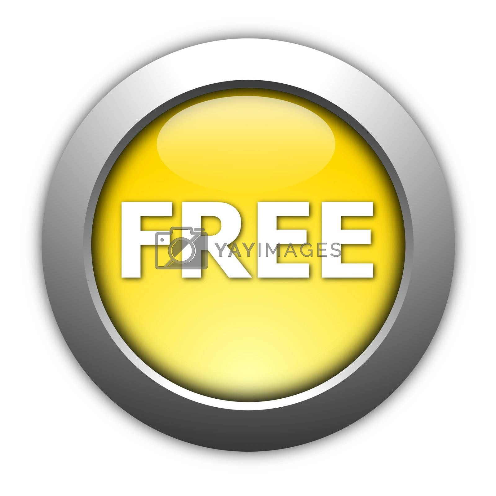 Royalty free image of free button by gunnar3000