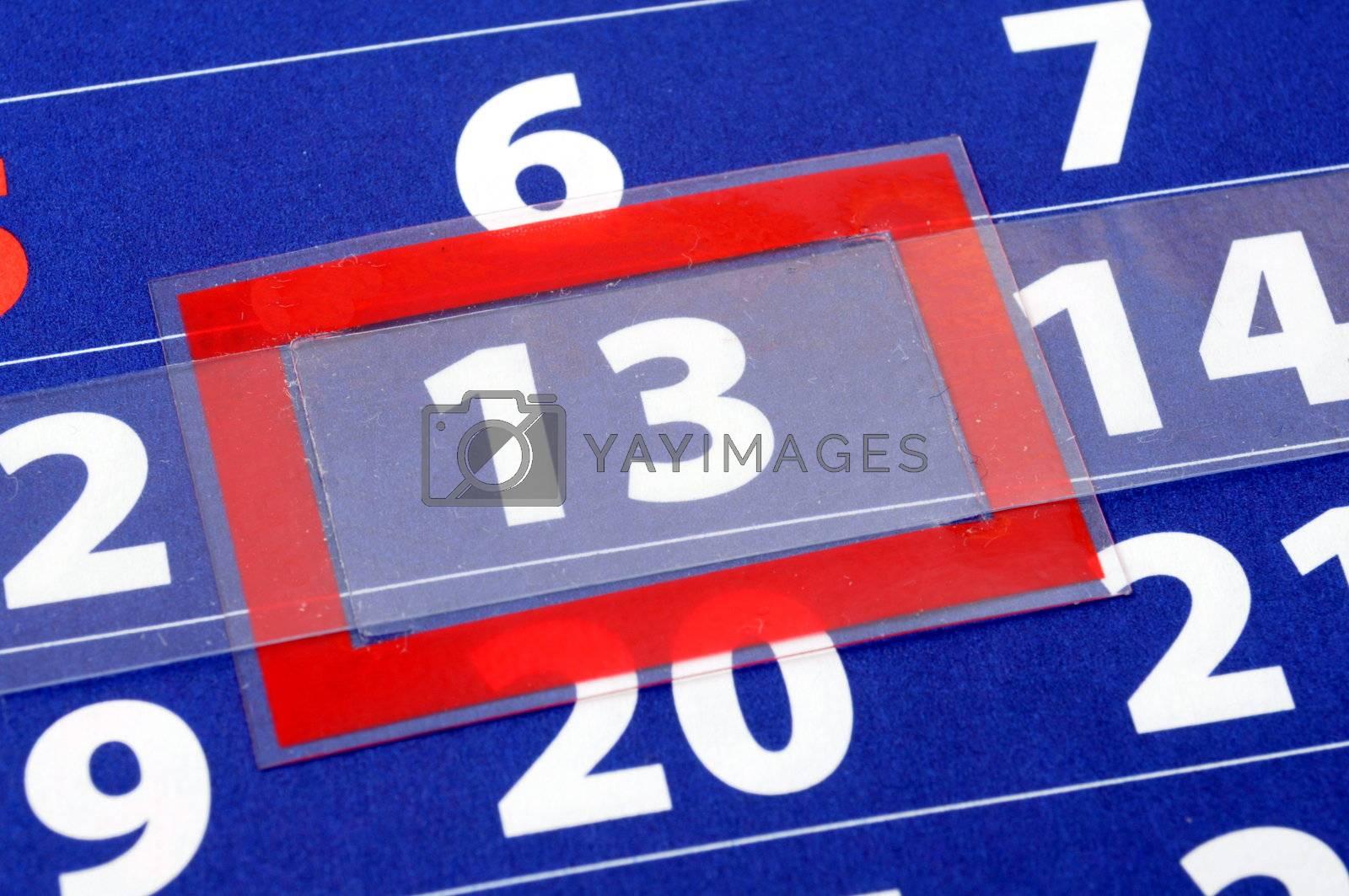 Royalty free image of calendar by gunnar3000