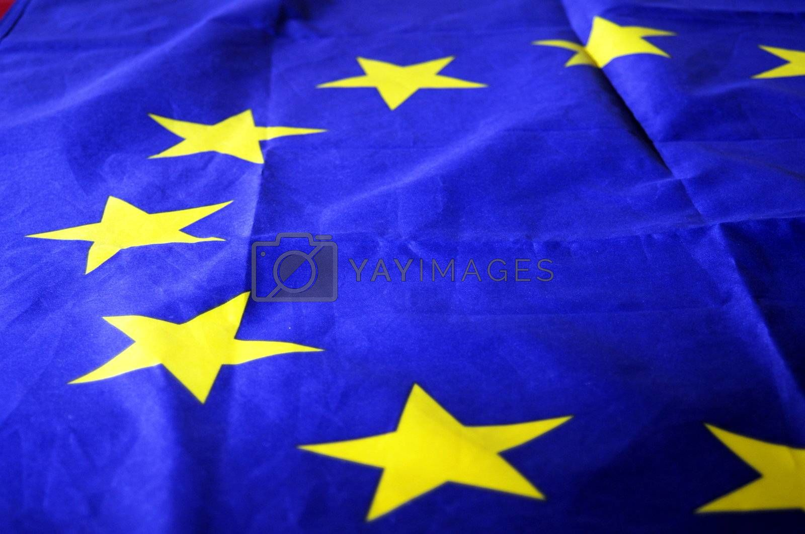 flag of the european union can be used as background