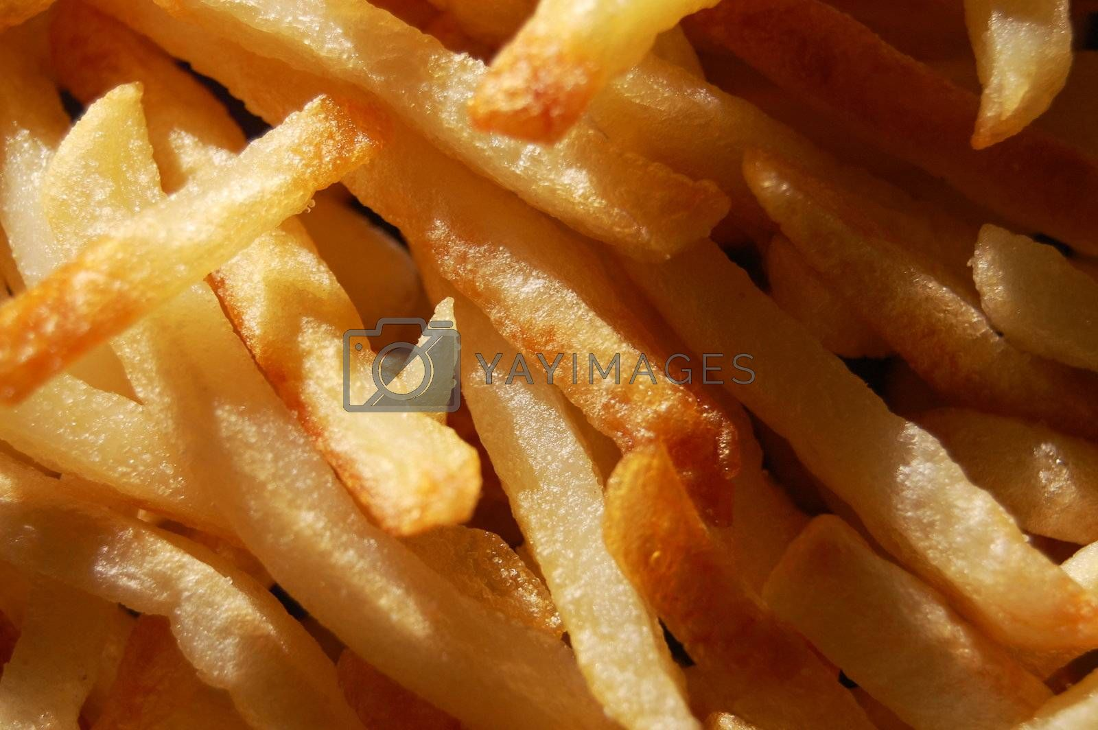 french fries texture can be used as background