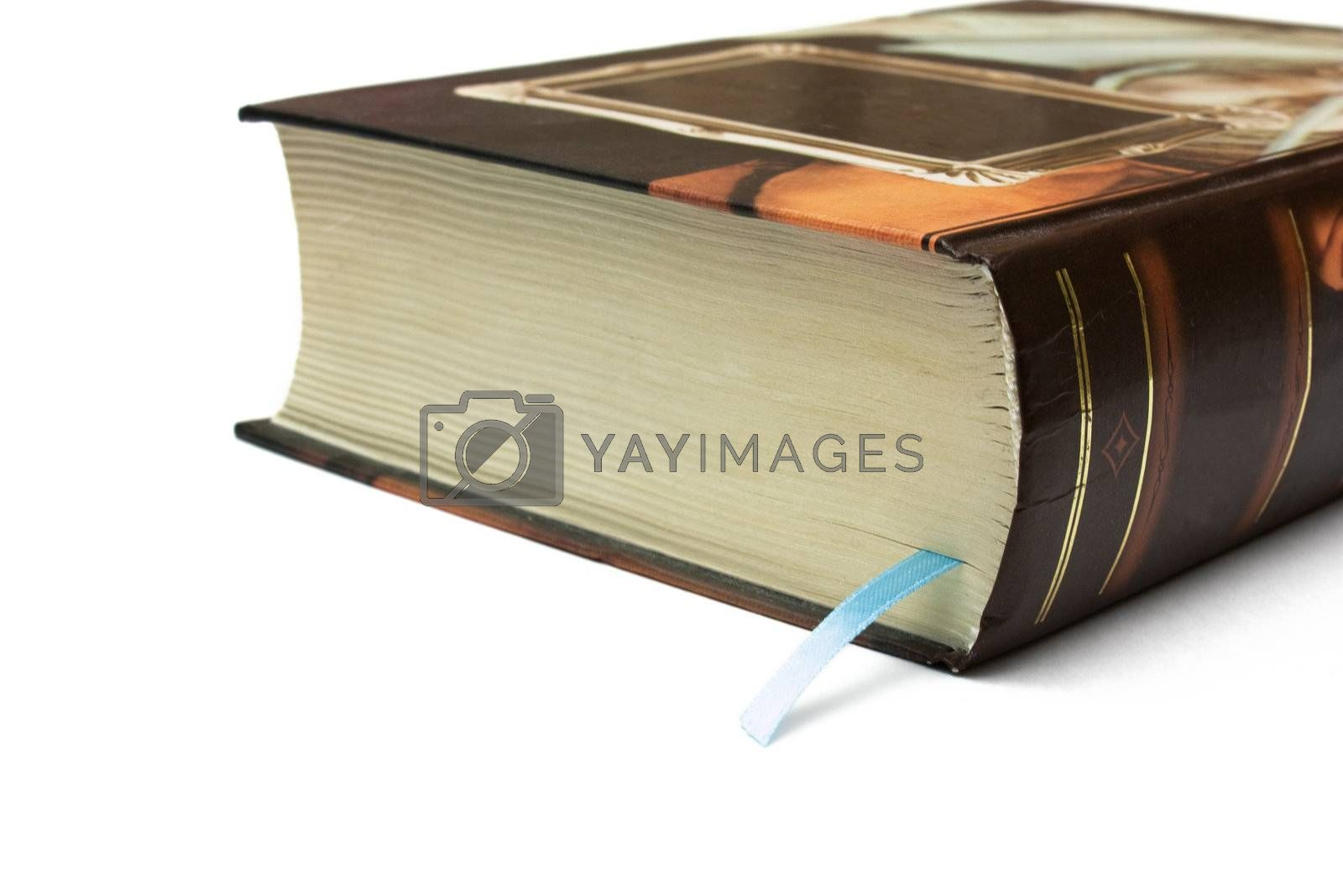 Bookmark in the thick book