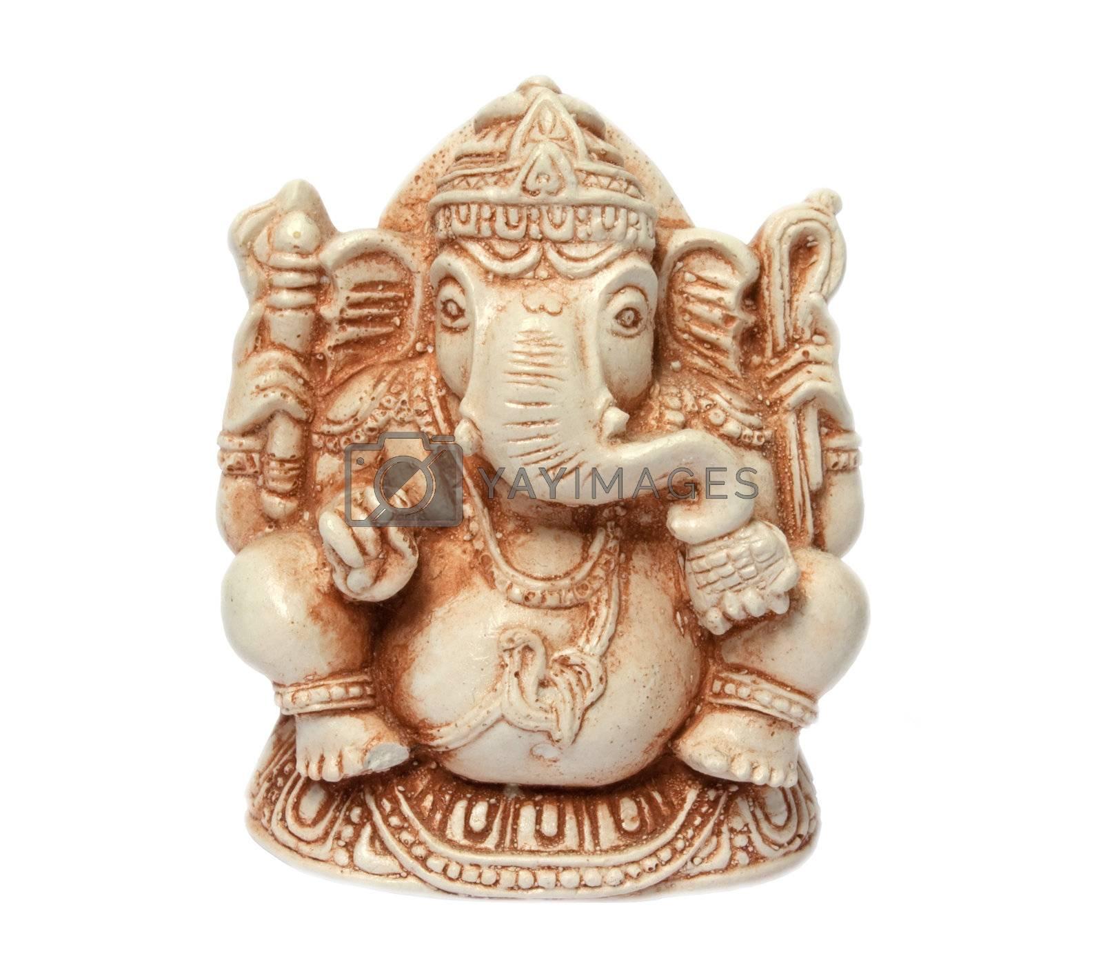 Statuette of hinduizm deity Ganesha