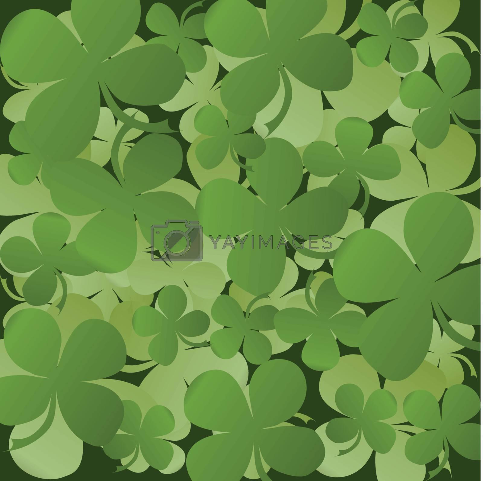 Saint Patrick Background card