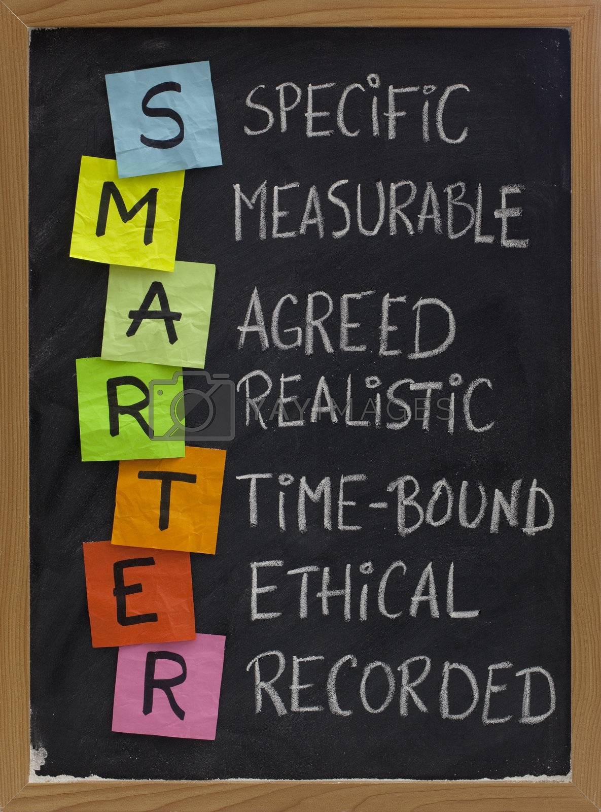 smart (smarter) goal setting by PixelsAway