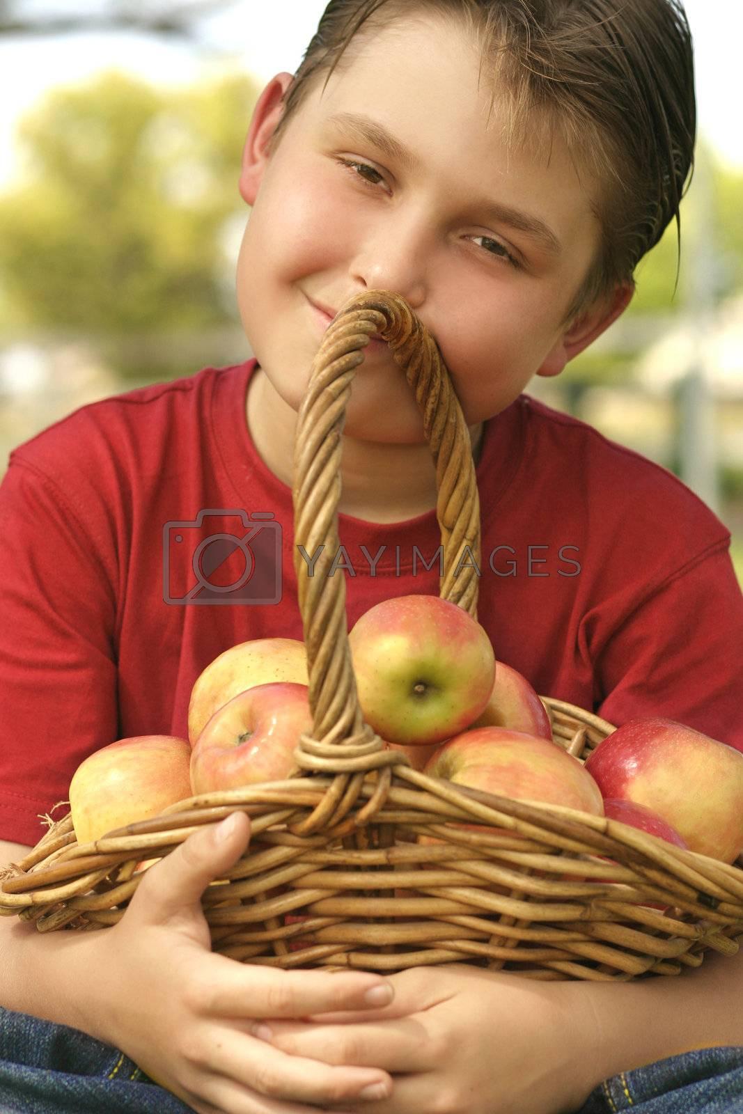 Apple Basket by lovleah