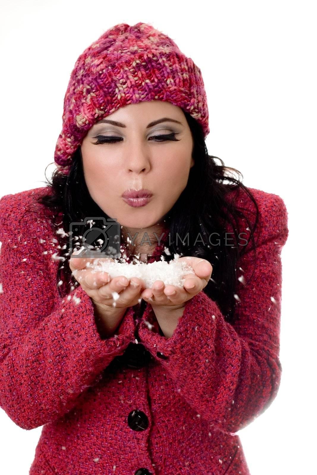 Winter Woman by lovleah