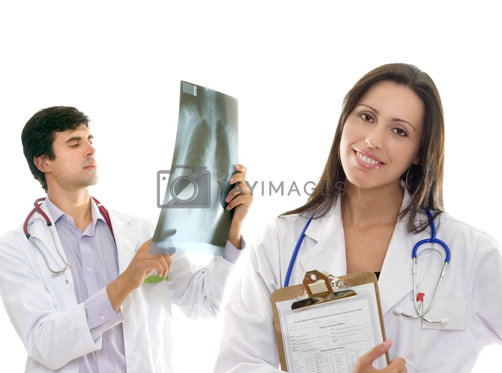 Friendly caring medical health doctors by lovleah