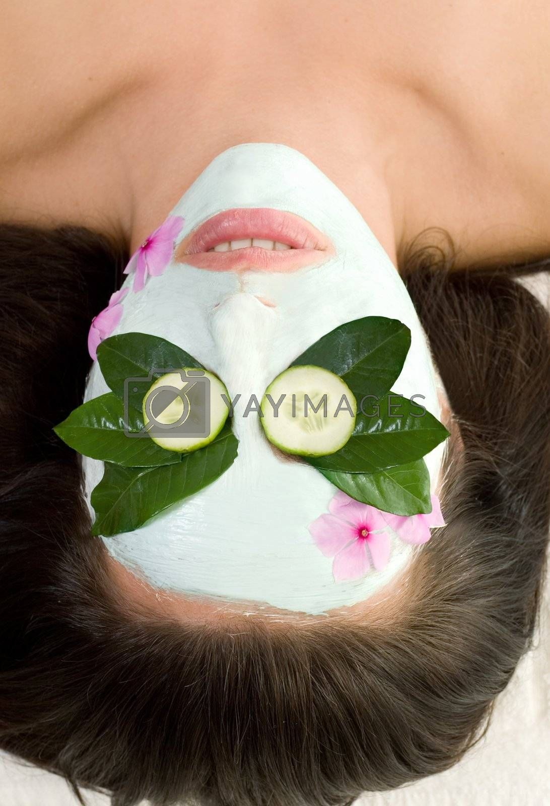 Soothing Green Tea and Cucumber mask by lovleah