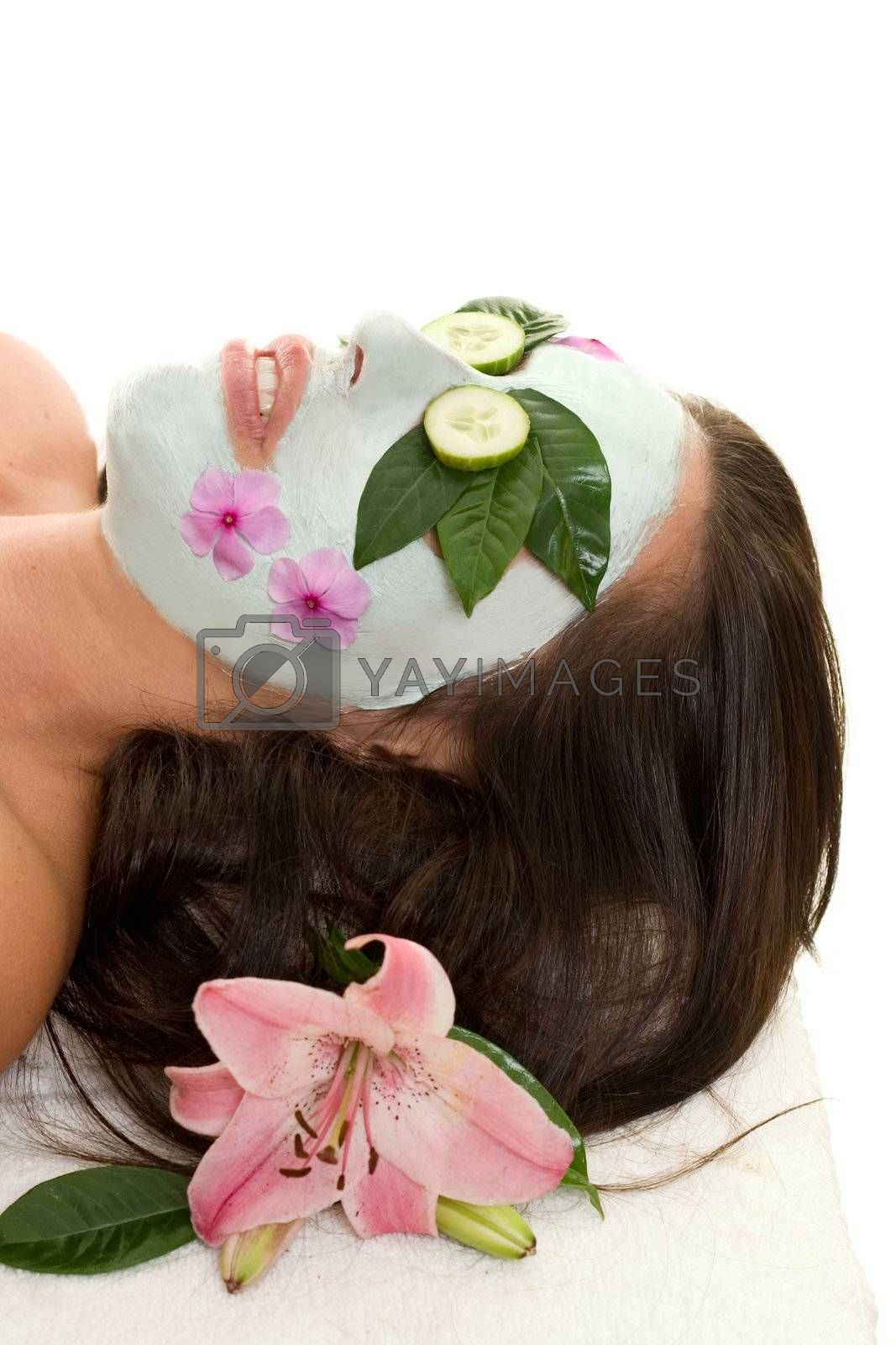 Cucumber and Green Tea Mask by lovleah