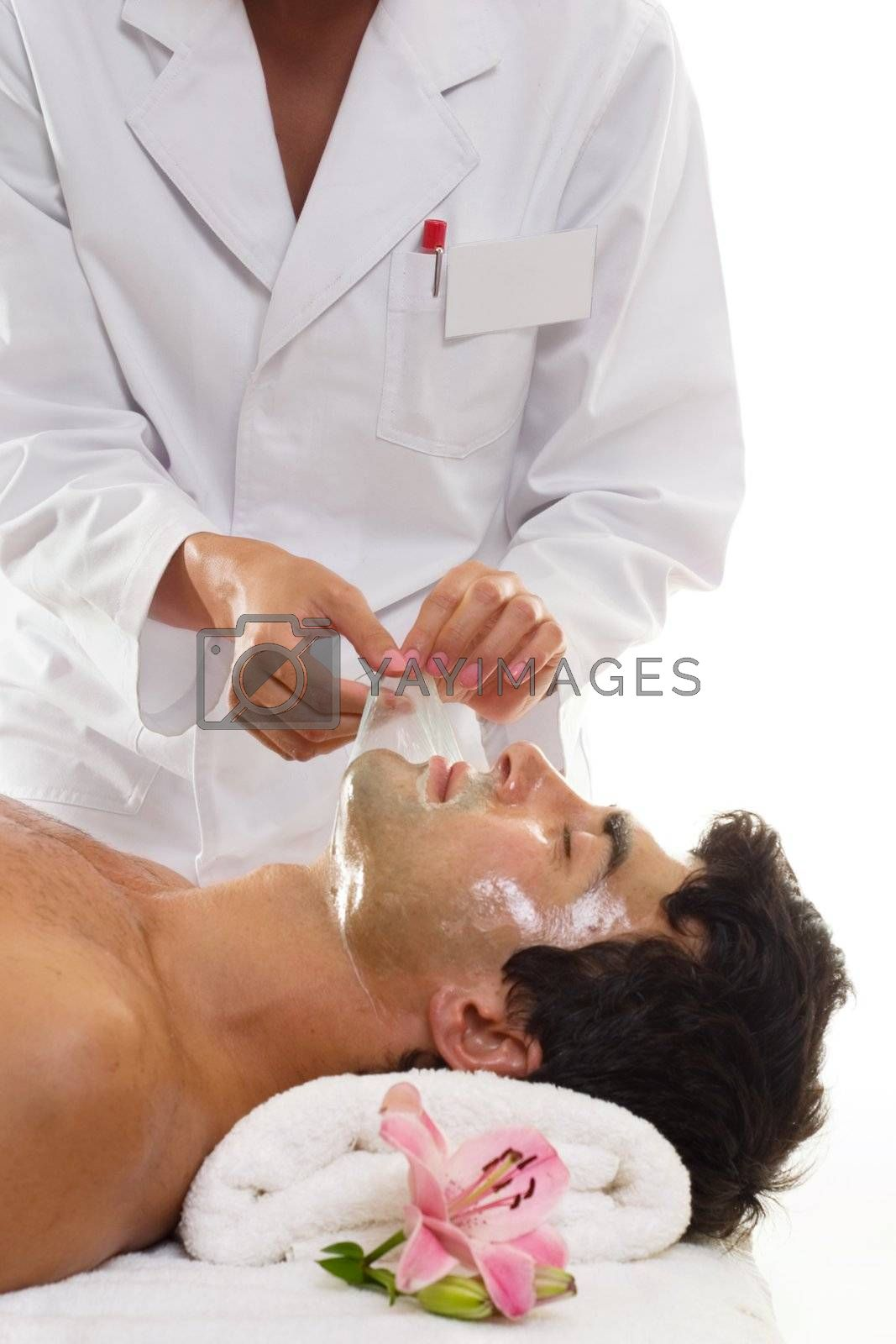 Beauty - Male Facial Salon Treatment Peel by lovleah